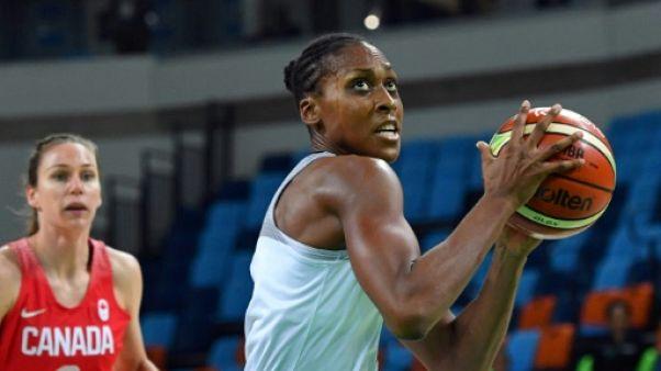 La Française Sandrine Gruda lors des JO de Rio, le 16 août 2016