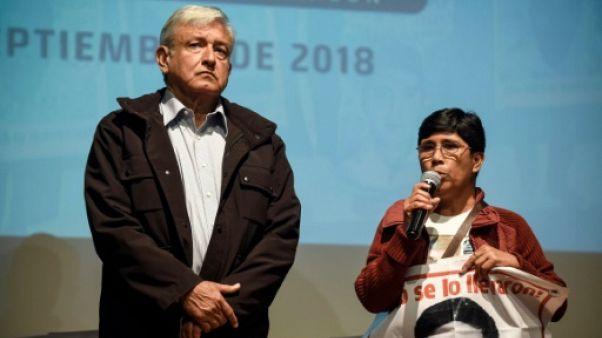 Mexique: le président élu s'engage à lancer une commission d'enquête sur la disparition de 43 étudiants