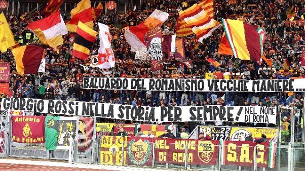 Roma: Curva Sud contesta Pallotta