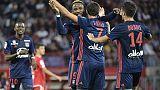 Ligue 1: Lyon continue sur sa belle lancée en écrasant Dijon grâce à Dembélé