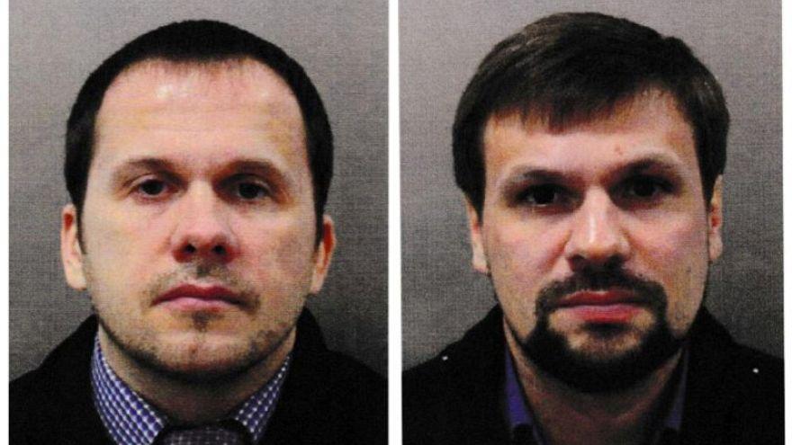 ألكسندر بتروف ورسلان بوشيروف المتهمان بمحاولة تسميم سكريبال وابنته