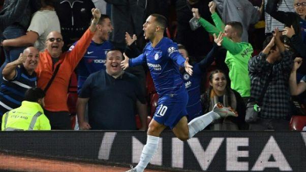 Coupe de la Ligue: Hazard délivre Chelsea et fait tomber Liverpool