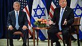 Proche-Orient: Trump penche pour la première fois pour la solution à deux Etats
