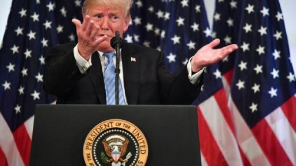 De George Washington à Elton John: 1h22 avec Trump