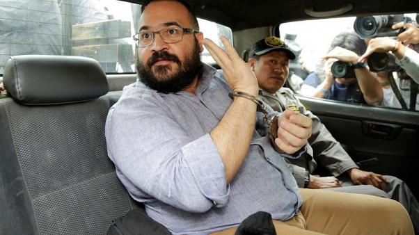 Former Mexican ruling party governor sentenced to nine years in jail
