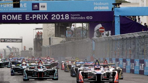 Formula E, gare in chiaro su Mediaset