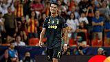 Champions: una giornata stop a Ronaldo