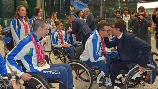 Cip, domani Giornata paralimpica 2018