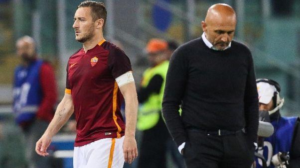 """Totti """"dissi vigliacco a Spalletti"""""""