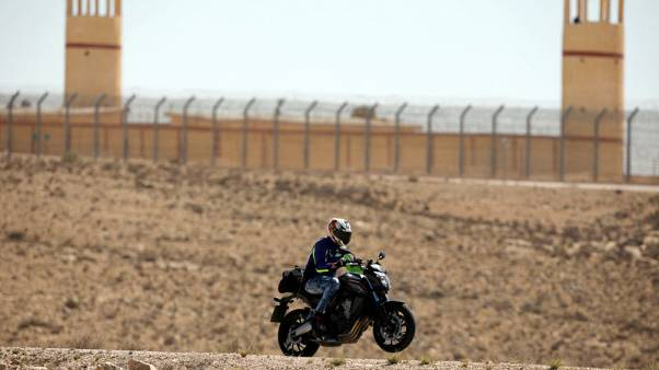 Biblical vistas, modern-day security along Israel-Egypt border road