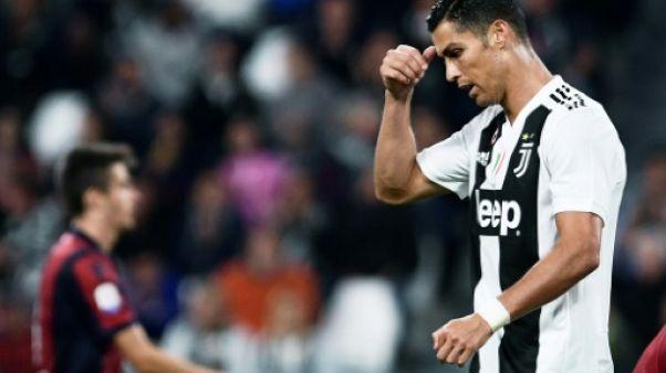 Ligue des champions: Ronaldo suspendu un seul match, disponible contre Manchester United