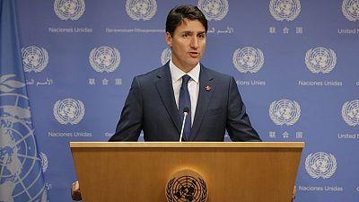 Trudeau dismisses Trump's NAFTA attack, says Canadians are tough