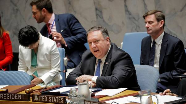 Pompeo tells U.N. only path for North Korea is diplomacy, denuclearisation