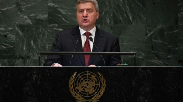 Référendum sur le nom de la Macédoine: le président Ivanov appelle au boycott