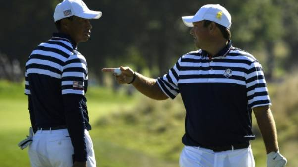 Ryder Cup: Tiger Woods associé à Patrick Reed pour la première journée
