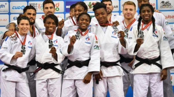 Judo: les Bleus en argent, le Japon en or évidemment