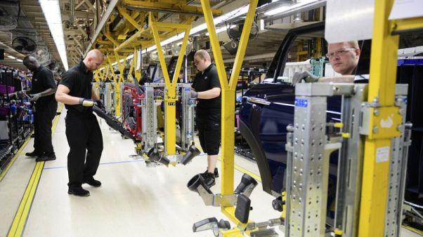 انتاج السيارات في بريطانيا يهبط 13 بالمئة في أغسطس