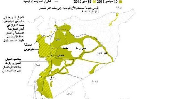 سهولة الحركة في المناطق الحكومية تمنح الأسد مكاسب اقتصادية