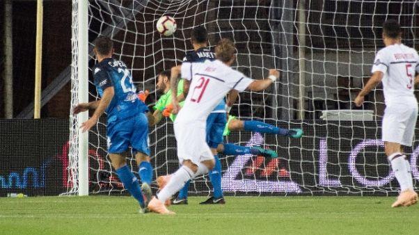 Serie A: Empoli-Milan 1-1