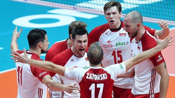 Pallavolo: Mondiali, Polonia-Serbia 3-0