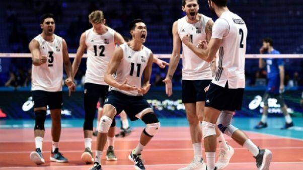 Volley: Etats-Unis et Brésil dans le dernier carré, la Russie éliminée