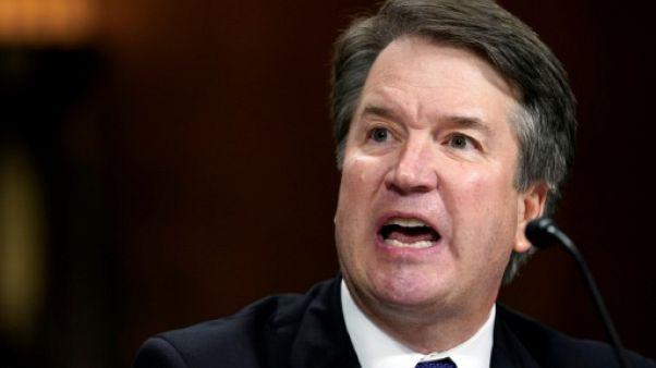 """Brett Kavanaugh a clamé son innocence et dénoncé une """"honte nationale"""""""