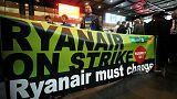 Ryanair strikes disrupt 40,000 passengers across Europe
