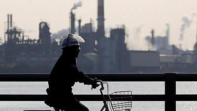 Japan's industrial output rebounds in August, outlook in doubt
