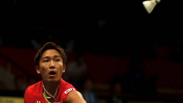 Badminton - Momota becomes first Japanese man to top world rankings