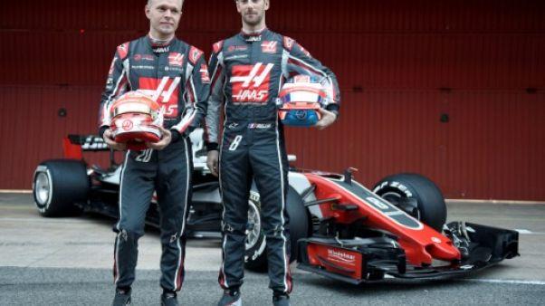 F1: Grosjean et Magnussen restent chez Haas en 2019