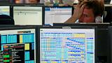 Italian banks lead European shares lower after government budget deal