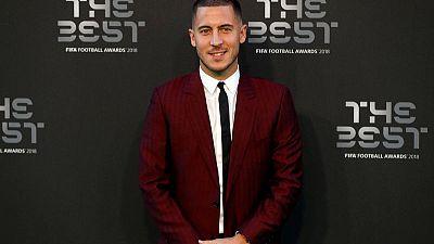 Chelsea's Hazard enjoying life under new manager Sarri