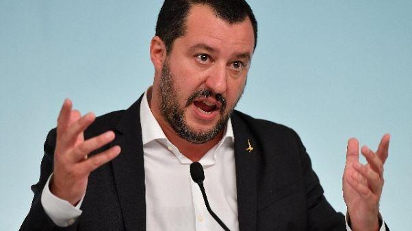 Manovra: Salvini, è passo verso civiltà