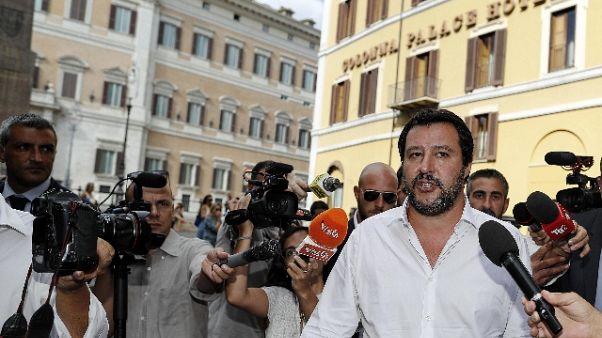 Manovra: Salvini, noi andiamo avanti