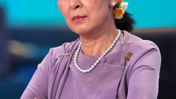 مجلس العموم الكندي يجرد زعيمة ميانمار أونج سان سو كي من الجنسية الشرفية