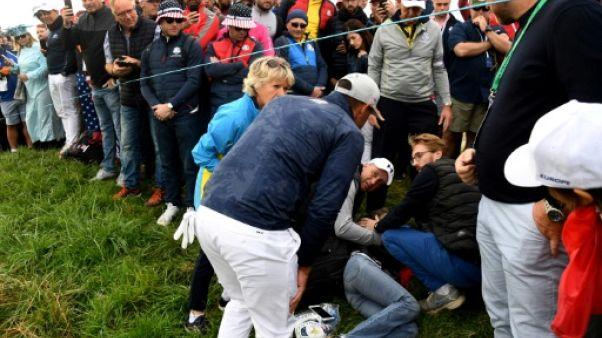 Ryder Cup: une spectatrice blessée après avoir été touchée par une balle