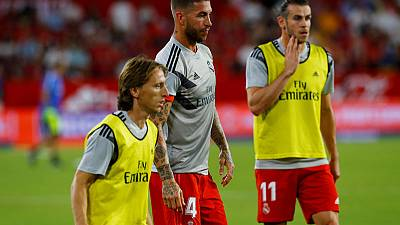 Modric still working towards peak fitness after draining season