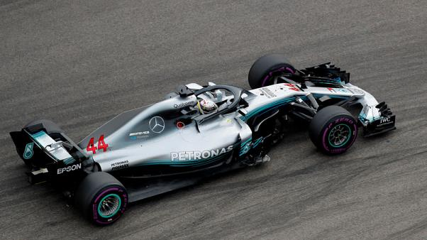 Hamilton sets the pace in Russian practice
