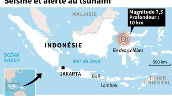 Séisme et alerte au tsunami