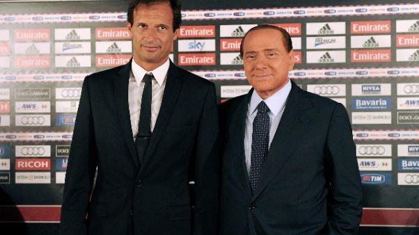 Allegri, in bocca al lupo a Berlusconi