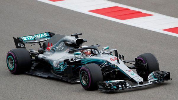 هاميلتون يستعيد سرعته في التجارب الحرة الثانية لسباق جائزة روسيا لفورمولا 1