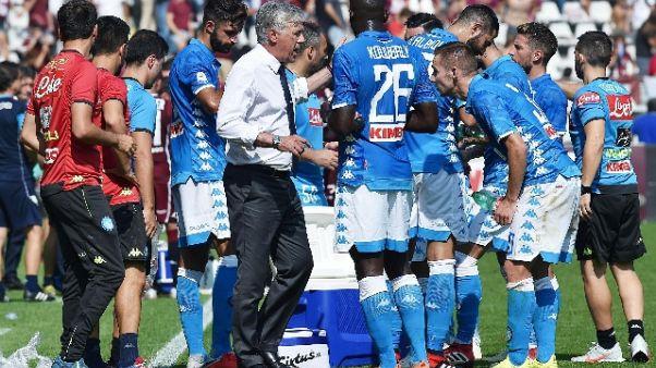 Napoli: Ancelotti, non firmo per il pari
