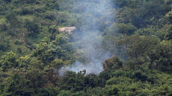مقتل طيار بعد تصادم طائرتين عسكريتين في نيجيريا أثناء تدريب
