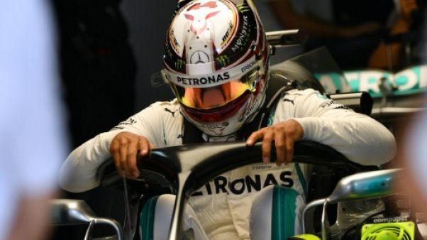 GP de Russie: Hamilton le plus véloce du jour aux essais libres 2
