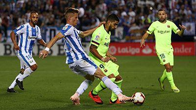 Barca coach Valverde calm despite 'earthquake' after defeat to Leganes