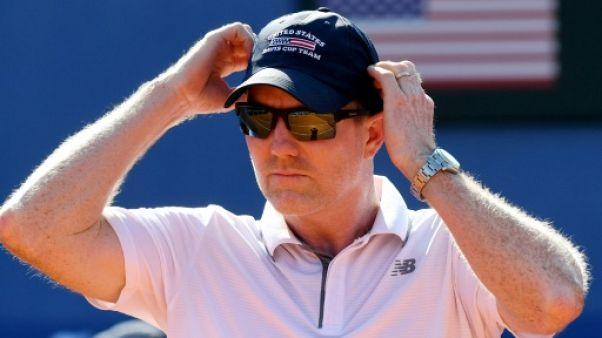 Coupe Davis: Courier n'est plus capitaine des Etats-Unis