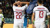 Milan: supporto società alla squadra
