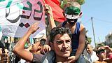 Syrie: manifestations à Idleb pour la libération de détenus aux mains du régime
