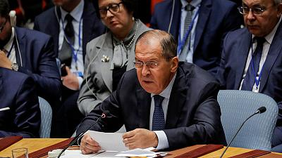 Russia's Lavrov takes swipe at U.S. 'attacks' on international order