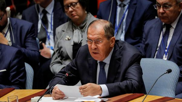 Russia's Lavrov takes swipe at U.S. 'attacks' on international order